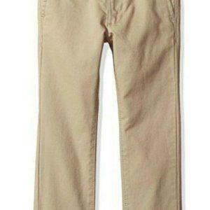 Boys Original Penguin Khaki Tan Pants, Size 14